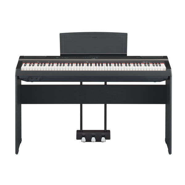 Yamaha P125-Black Digital Piano With Stand and Pedal Unit