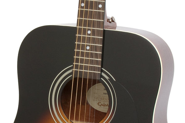 Epiphone DR-100 Acoustic Guitar in Vintage Sunburst