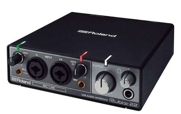 Roland Rubix 22 USB Audio Interface 2 in/2 Out (RUBIX22)
