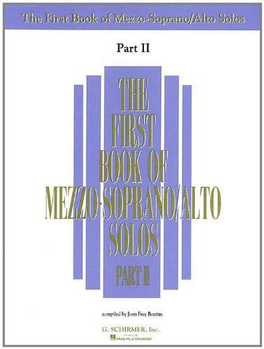 The First Book of Mezzo-Soprano/Alto Solos - Part II
