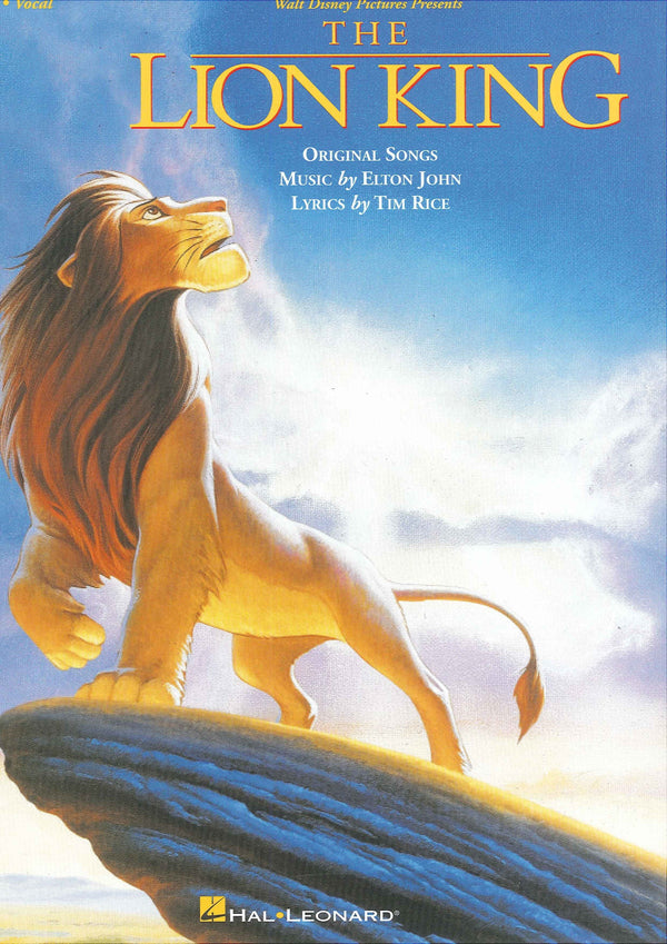 The Lion King (Piano/Vocal/Guitar Songbook)