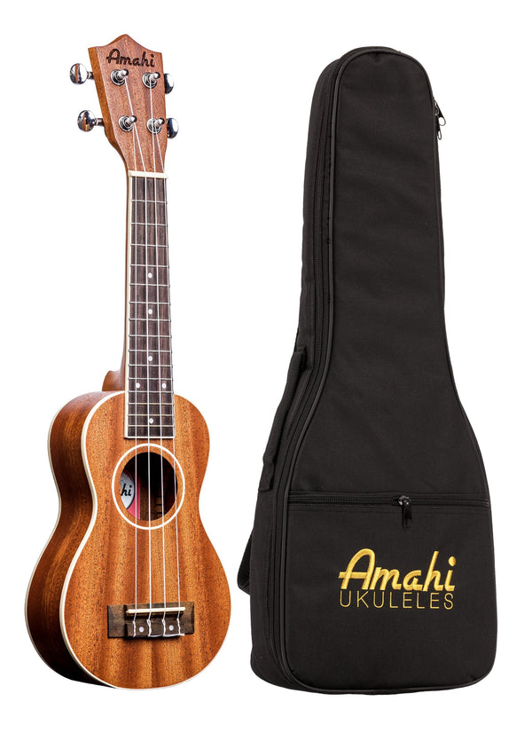 Amahi UK217 Peanut Ukulele With Bag