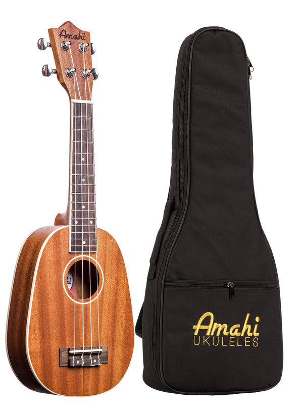 Amahi UK217 Pineapple Ukulele With Bag
