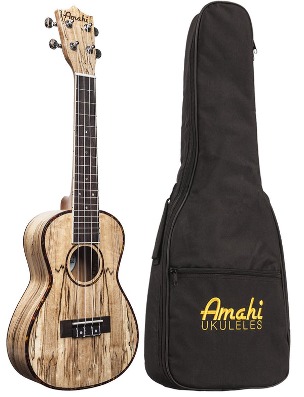 Amahi UK770T Classic Spalted Maple Ukulele