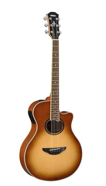 Yamaha APX700II Thin-Line Acoustic Electric Guitar - Sand Burst