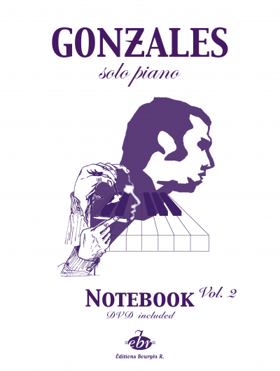 Chilly Gonzales - Solo Piano, Notebook Vol II (DVD included)