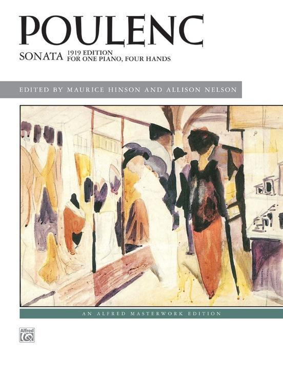 Sonata - 1919 Edition for One Piano, Four Hands