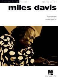 Miles Davis - Jazz Piano Solo Series Volume 1 (2nd Edition)