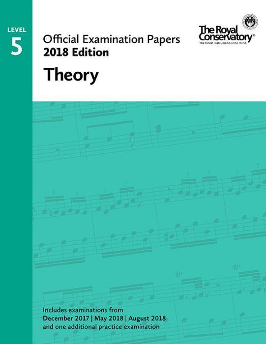 RCM Official Exam Papers: Level 5 Theory 2018