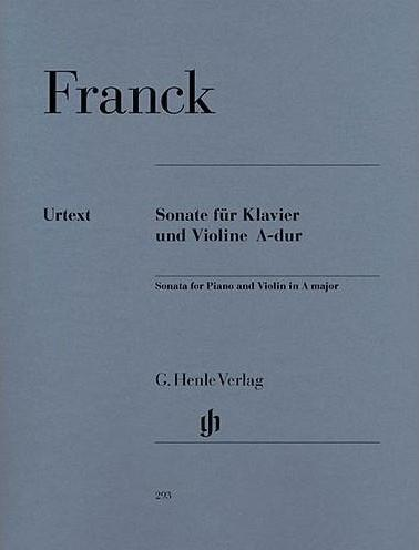 Violin Sonata in A Major (Violin and Piano)