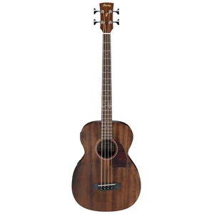 Ibanez PCBE12MH-OPN Acoustic Bass Guitar - Open Pore Natural