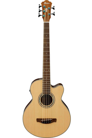 Ibanez AEB105E Acoustic Electric Bass - Natural High Gloss
