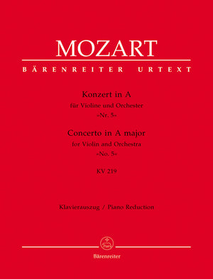 Mozart - Concerto for Violin and Orchestra no. 5 in A major K. 219