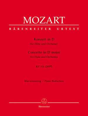 Mozart - Concerto for Flute and Orchestra in D major K. 314 (285d)