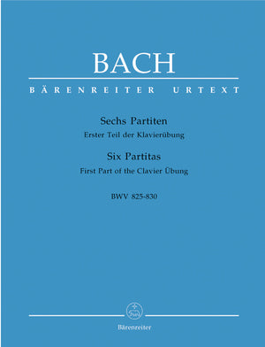 Bach - Six Partitas BWV 825-830 (without fingerings)