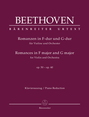 Beethoven - Romances in F major and G major for Violin and Orchestra op. 50, 40