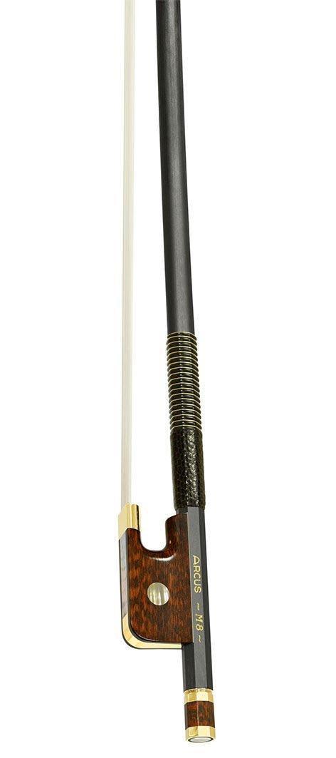 Arcus M8 Gold Mounted Cello Bow
