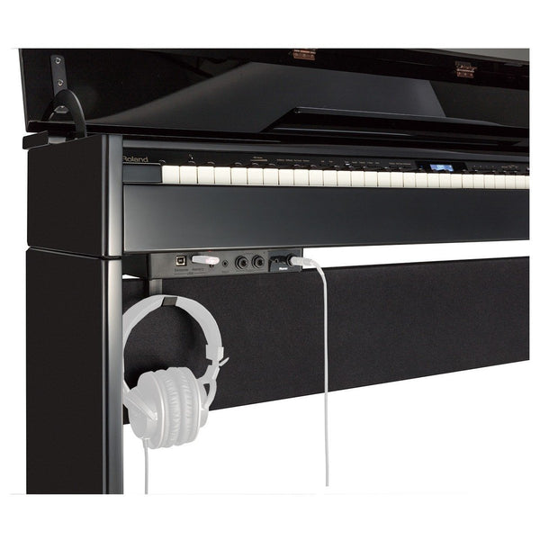 Roland DP-603 Digital Piano with Bench, Classic Polished Ebony