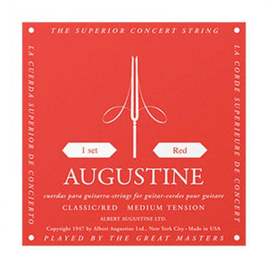 Augustine Red Classical Guitar Strings ARD - Medium Tension
