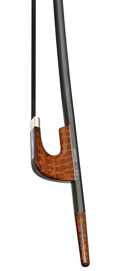 Arcus S5 Silver Mounted Bass Bow
