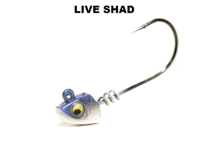 6th Sense Divine ScrewLock Swimbait Jig Head