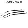 Top Brass Jumbo Peg-it 15 pcs