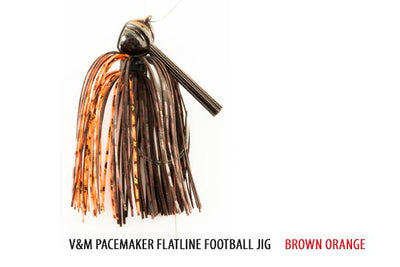 V&M Series Flatline Football Jig