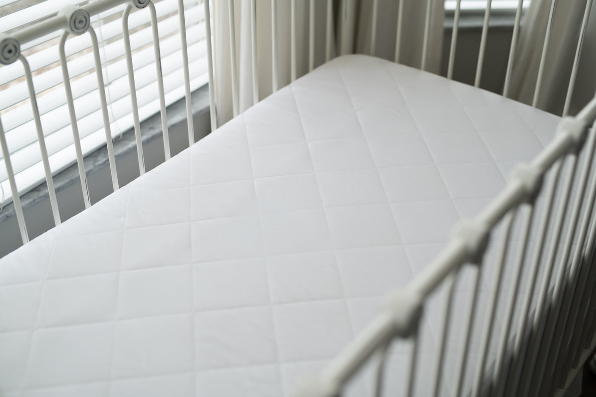 Organic Cotton Waterproof Crib Mattress Pad
