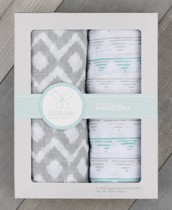 Organic Swaddle Set - Washoe