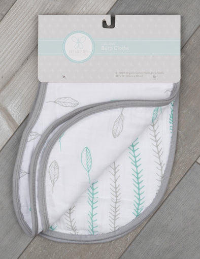 Organic Burp Cloth Set - Kiva