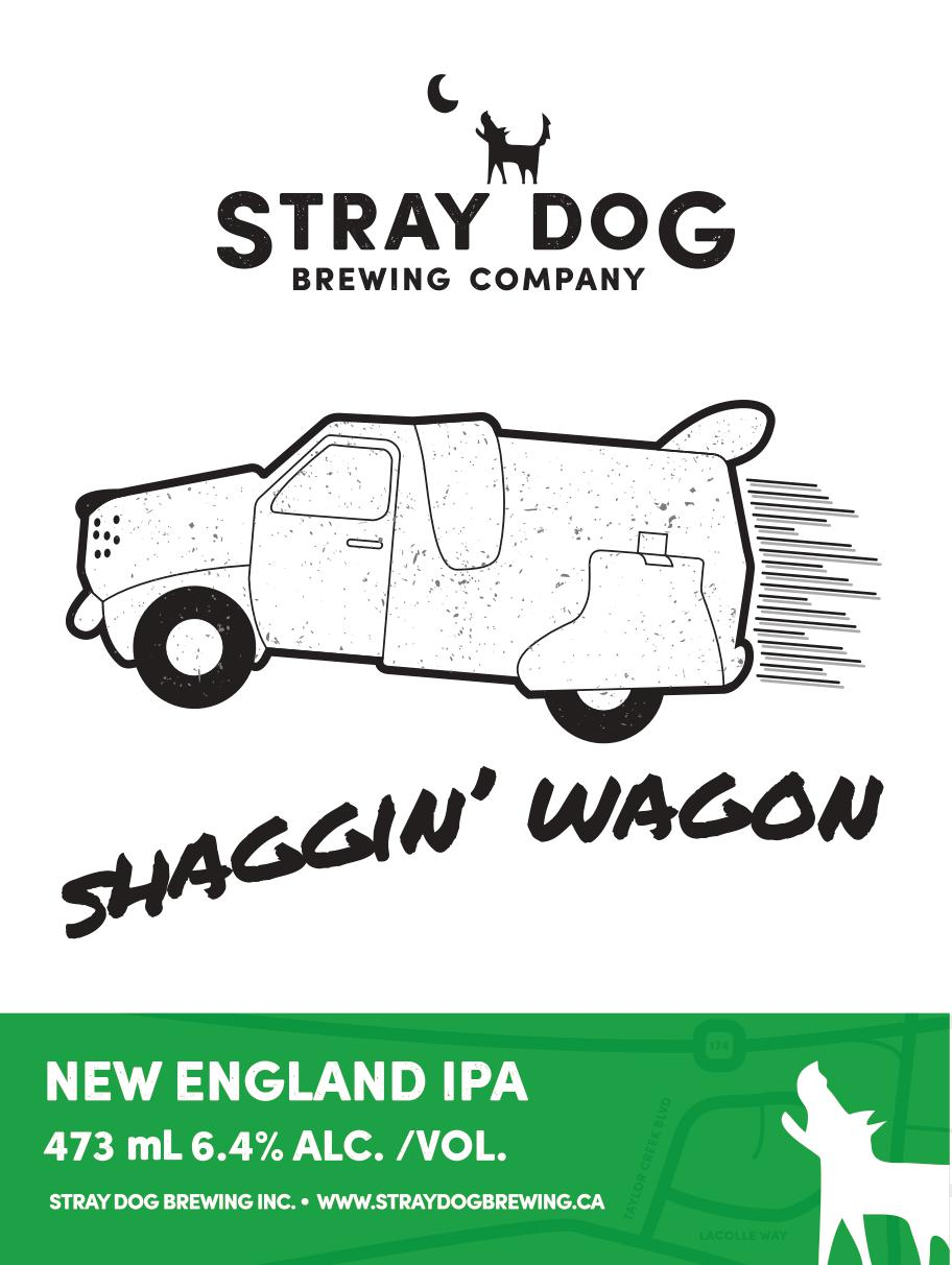 Shaggin' Wagon - New England IPA 6.4% abv 473ml cans