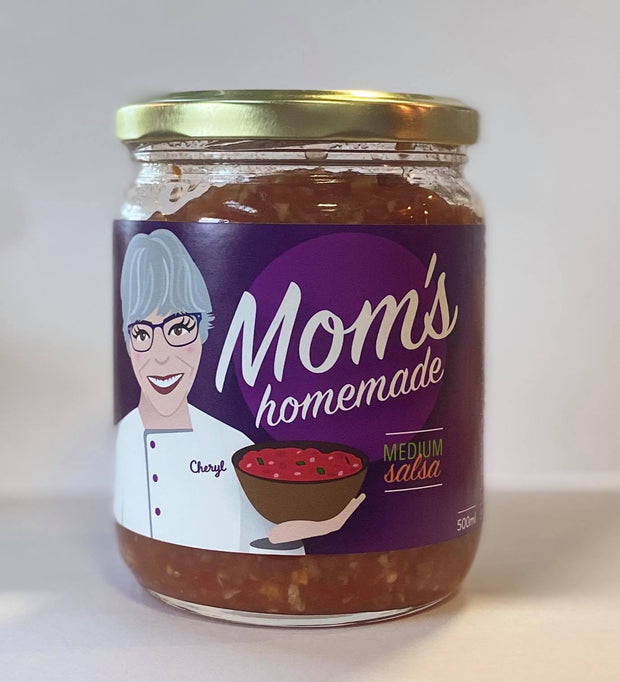 Mom's Homemade Salsa