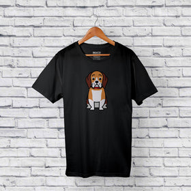 Best beagle black t-shirt for sale