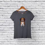 Best beagle gray t-shirt for sale