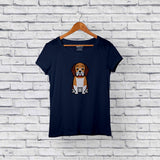 Best beagle blue t-shirt for sale
