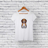 Best beagle white t-shirt for sale