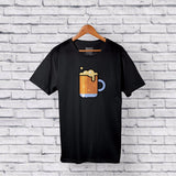 cootd beer t-shirt black