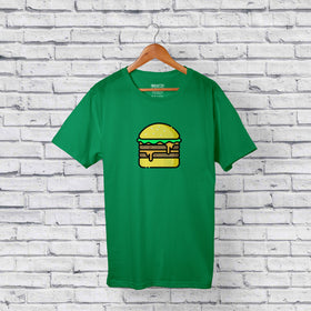 Catchy Burger T-shirt Design