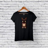 Best German Shepherd Black T-Shirt Online