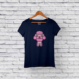 Cute Poodle Blue T-Shirt Design Online