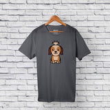 Best Shih Tzu Dog Gray T-Shirt Design Online