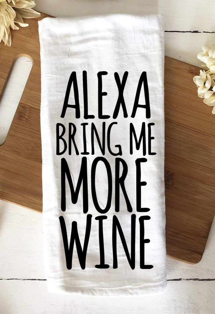 100% cotton custom gifts and decor for wine lovers