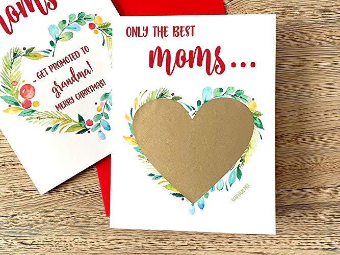 Christmas Pregnancy Scratch Off for Mom