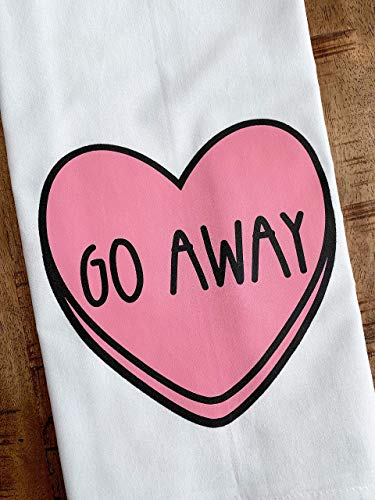 Funny Valentine's Day Tea Towels (Set of 2)
