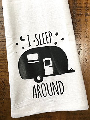 Funny Camper RV Kitchen Towel