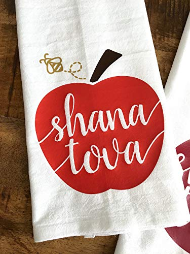 Apples and Honey Shana Tova Tea Towel