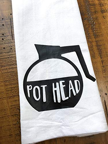 Pot Head Tea Towel