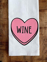 Candy Heart Kitchen Towel