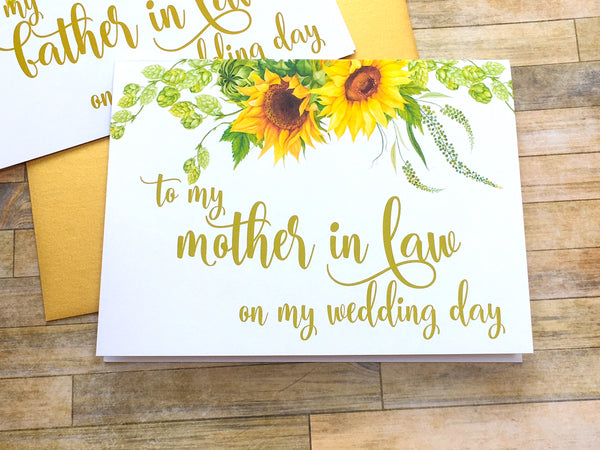 To My Mother-in-Law on My Wedding Day