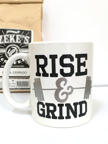 Rise and Grind Workout Coffee Mug